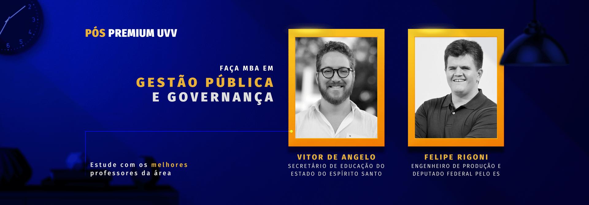 Estude Gestão Pública e Governança na UVV
