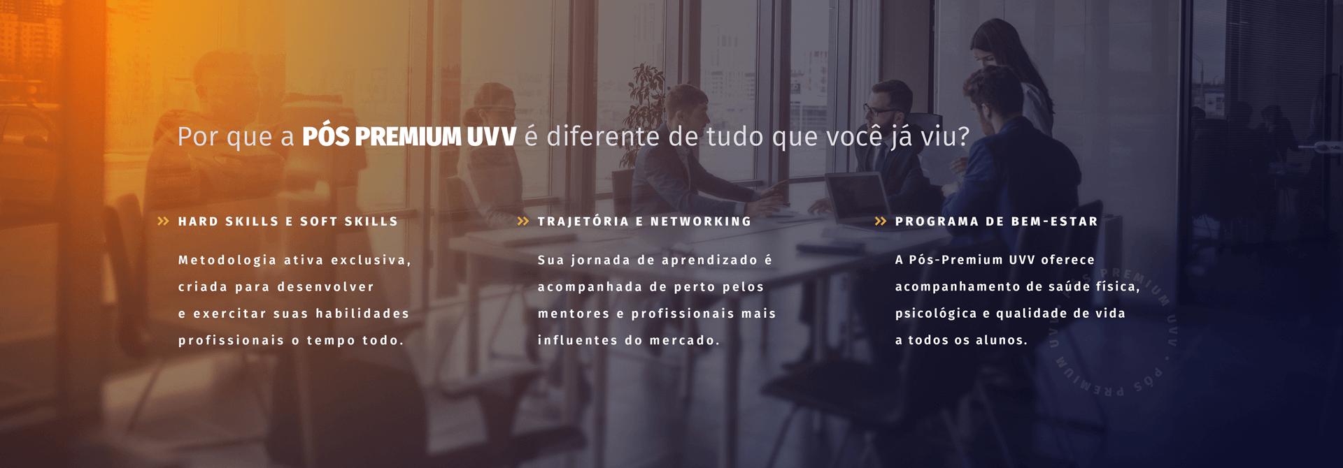 Inscreva-se na Pós Premium UVV