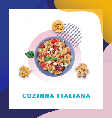 Cozinha Italiana – 100% ONLINE