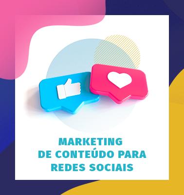 Marketing de Conteúdo para Redes Sociais – 100% ONLINE