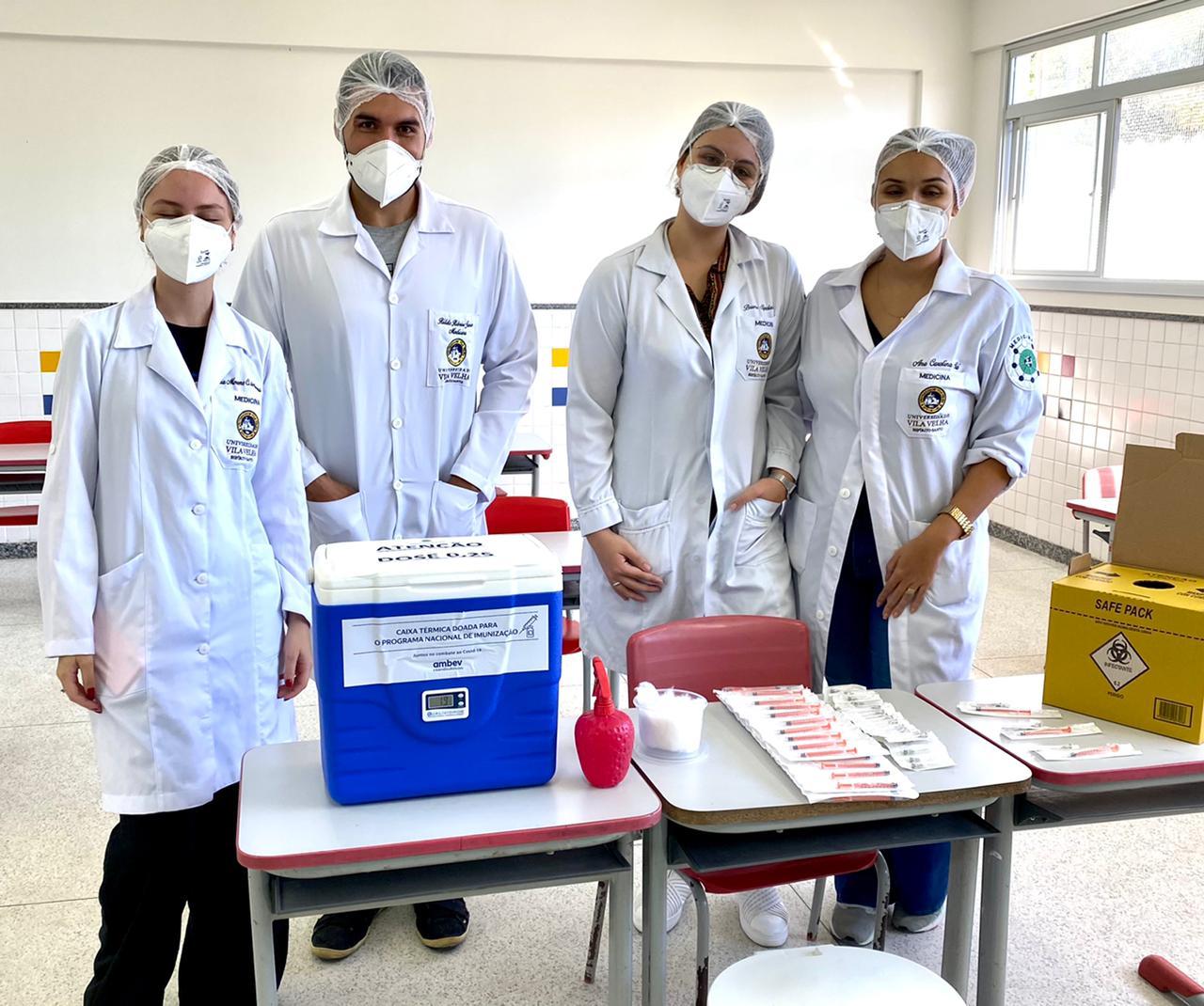 Medicina UVV no combate ao Covid-19