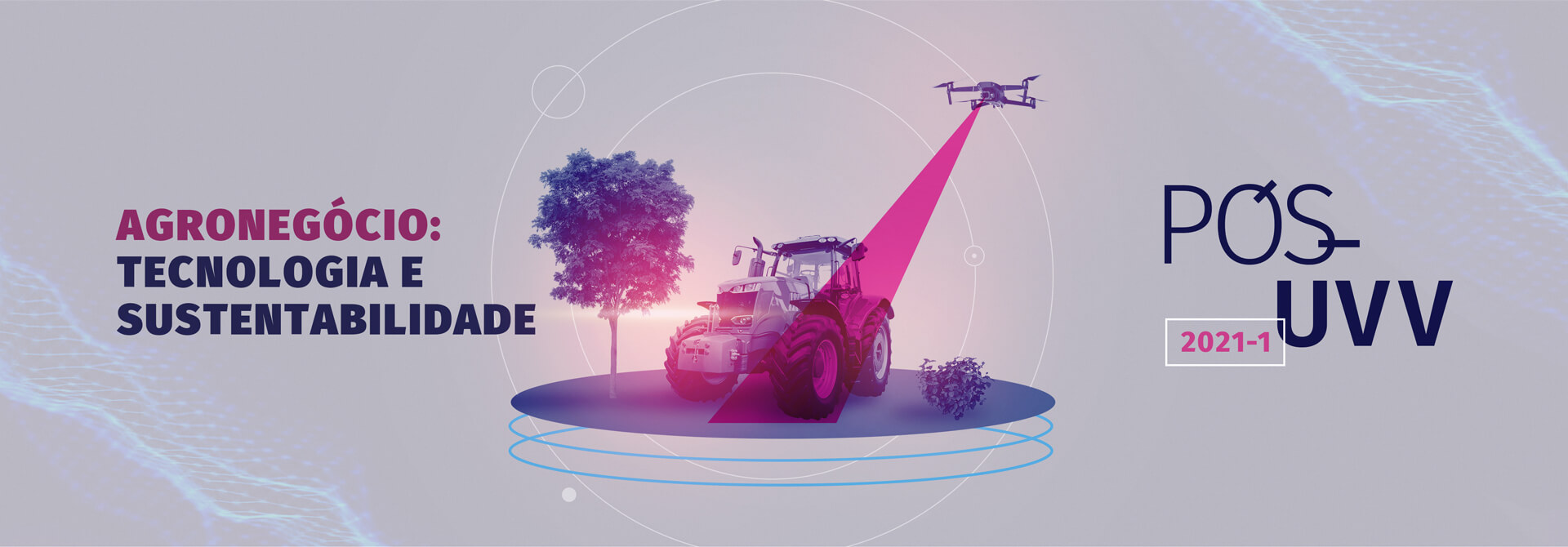 Faça Pós-Graduação em Agronegócio: Tecnologia e Sustentabilidade